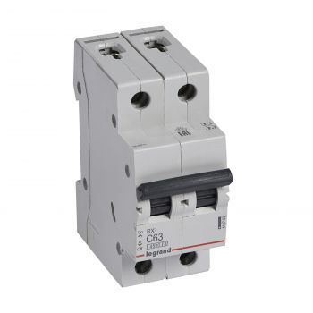 Siguranta Automata Rx3 Disjunctor 2P C63 4500A Monoconnect Legrand 419703
