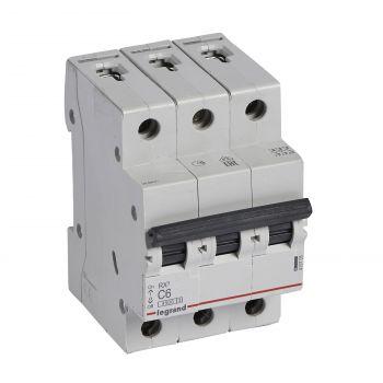 Siguranta Automata Rx3 Disjunctor 3P C6 4500A Monoconnect Legrand 419705