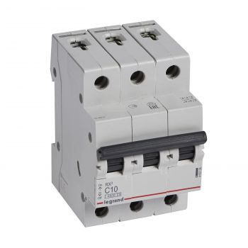 Siguranta Automata Rx3 Disjunctor 3P C10 4500A Monoconnect Legrand 419706