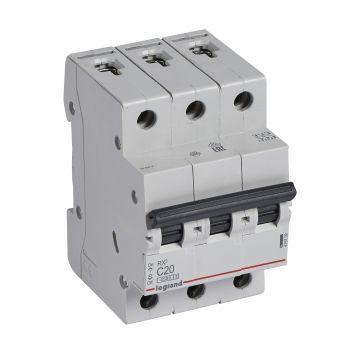 Siguranta Automata Rx3 Disjunctor 3P C20 4500A Monoconnect Legrand 419709