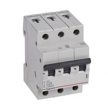 Siguranta Automata Rx3 Disjunctor 3P C25 4500A Monoconnect Legrand 419710
