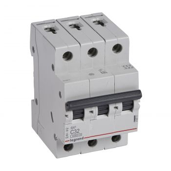 Siguranta Automata Rx3 Disjunctor 3P C32 4500A Monoconnect Legrand 419711