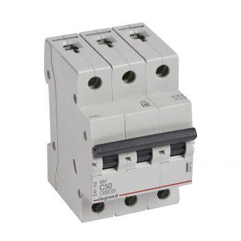 Siguranta Automata Rx3 Disjunctor 3P C50 4500A Monoconnect Legrand 419713