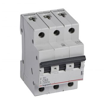 Siguranta Automata Rx3 Disjunctor 3P C63 4500A Monoconnect Legrand 419714