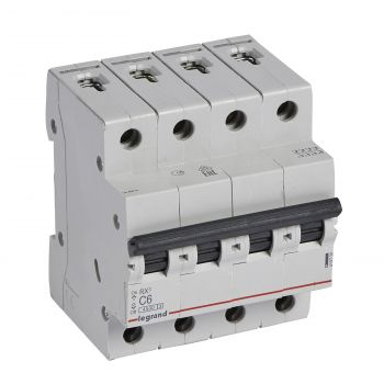 Siguranta Automata Rx3 Disjunctor 4P C6 4500A Monoconnect Legrand 419738