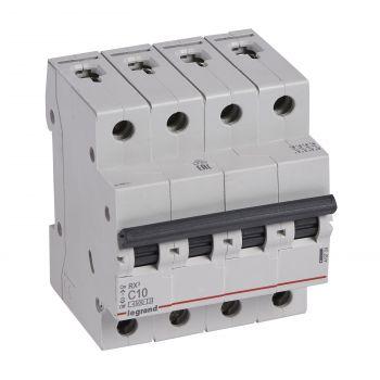 Siguranta Automata Rx3 Disjunctor 4P C10 4500A Monoconnect Legrand 419739