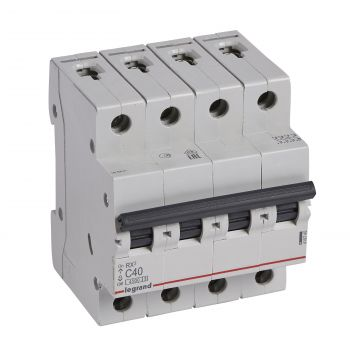 Siguranta Automata Rx3 Disjunctor 4P C40 4500A Monoconnect Legrand 419745