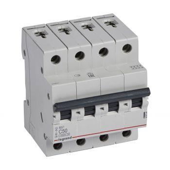 Siguranta Automata Rx3 Disjunctor 4P C50 4500A Monoconnect Legrand 419746