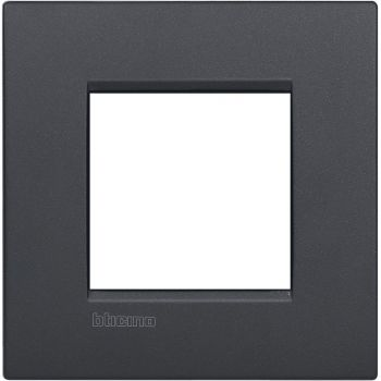 Bticino Living Light Air Rama 2 moduli - Antracite LNC4802AR