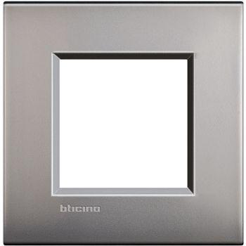 Bticino Living Light Air Rama 2M nichel mat LNC4802NK