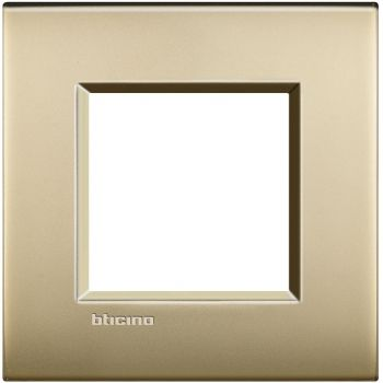 Bticino Living Light Air Rama 2M auriu mat LNC4802OF