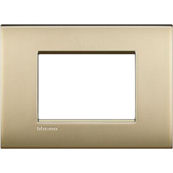Bticino Living Light Air Rama 3M auriu mat LNC4803OF