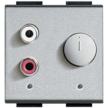 Bticino My Home Audio Modul Audio Intrare Rca 2 Jack NT4560