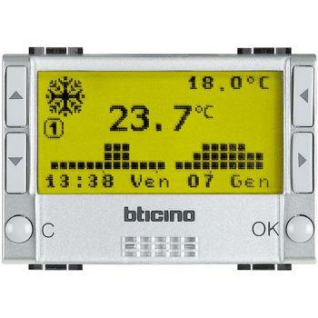 Bticino My Home Control Termperatura Unitate centrala gestionare temp 4zone 3M My Home NT4695