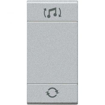 Bticino My Home Audio Capac tasta difuziune sonora 1M NT4911BFN