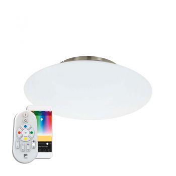 Iluminat Smart Led-Ble-Rgb-Cct Dl Ws-Nickel 'Frattina-C Eglo 97811