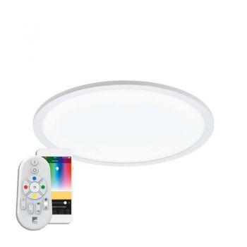 Iluminat Smart Led-Ble-Rgb-Cct Dl D450 Weiss 'Sarsina-C Eglo 97959
