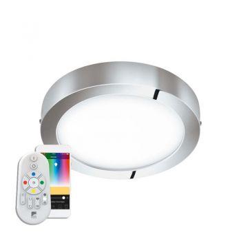 Iluminat Smart Led-Ble-Rgb-Cct Dl D300 Chrom 'Fueva-C' Eglo 98559