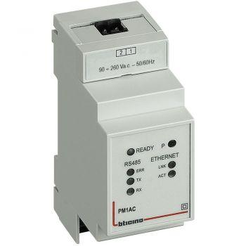 Bticino Sigurante Automate Convertitore Modbus RS485-TCP IP Vac PM1AC