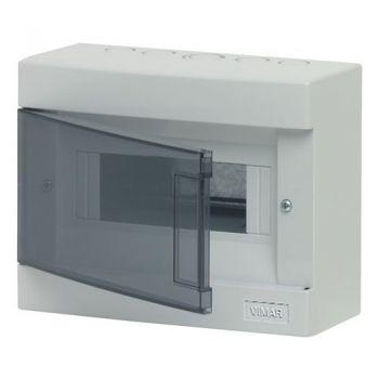 Tablou electric IP40 surface consumer unit 8M -plus-door vimar Consumer units V50408