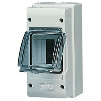 Tablou electric IP55 surface consumer unit 3M-plus-door grey vimar Consumer units V51003