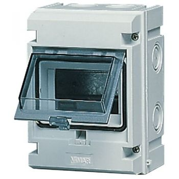 Tablou electric IP55 surface consumer unit 5M-plus-door grey vimar Consumer units V51005