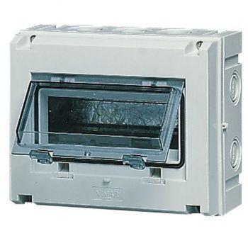 Tablou electric IP55 surface consumer unit 8M-plus-door grey vimar Consumer units V51008