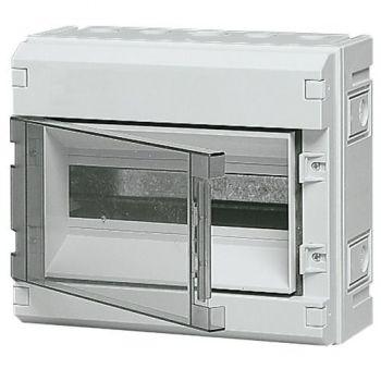 Tablou electric IP55 surface consumer unit 12M-plus-door grey vimar Consumer units V51112