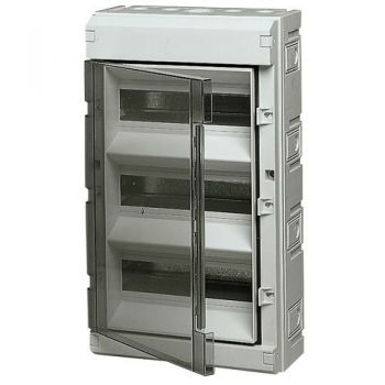 Tablou electric IP55 surface consumer unit 36M-plus-door grey vimar Consumer units V51136