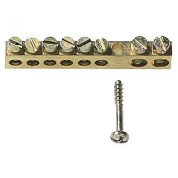 Brass terminal block 8 holes vimar Consumer units V51808