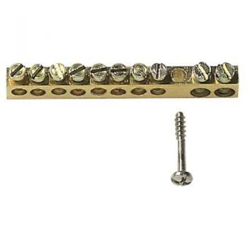 Brass terminal block 10 holes vimar Consumer units V51810