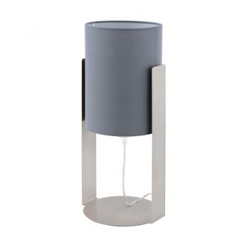 Veioze Tl-1 E27 Nickel-Matt-Grau 'Siponto' Eglo 98286