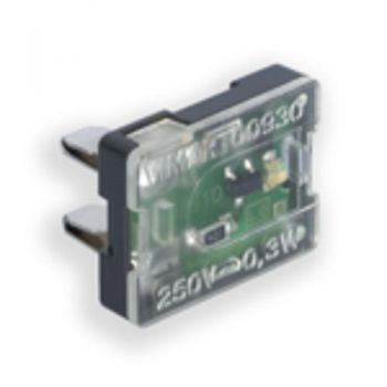 LED lamp 250V red vimar Lighting components 00930