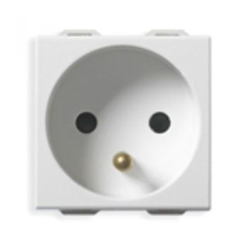 2P-plus-E 16A French outlet white vimar Neve 09212